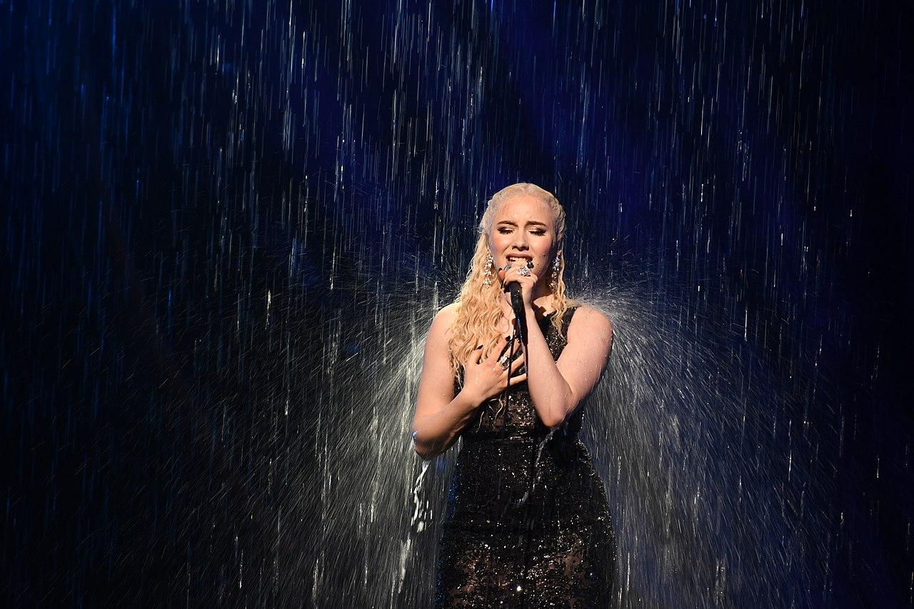 Fichier:Melodifestivalen 2019, deltävling 1, Scandinavium, Göteborg,  Wiktoria, 19.jpg — Wikipédia