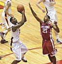 Melvin Ejim and Cameron Clark 29-Jan-2011.jpg