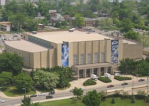 Memorial Coliseum (University of Kentucky) - Image: Memorial coliseum Lexington KY