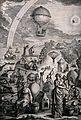Men and women with telescopes, gyroscopes, a hot-air balloon Wellcome V0040858.jpg