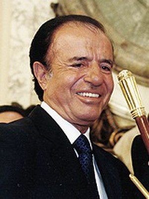 Argentine general election, 2003 - Image: Menem 1999