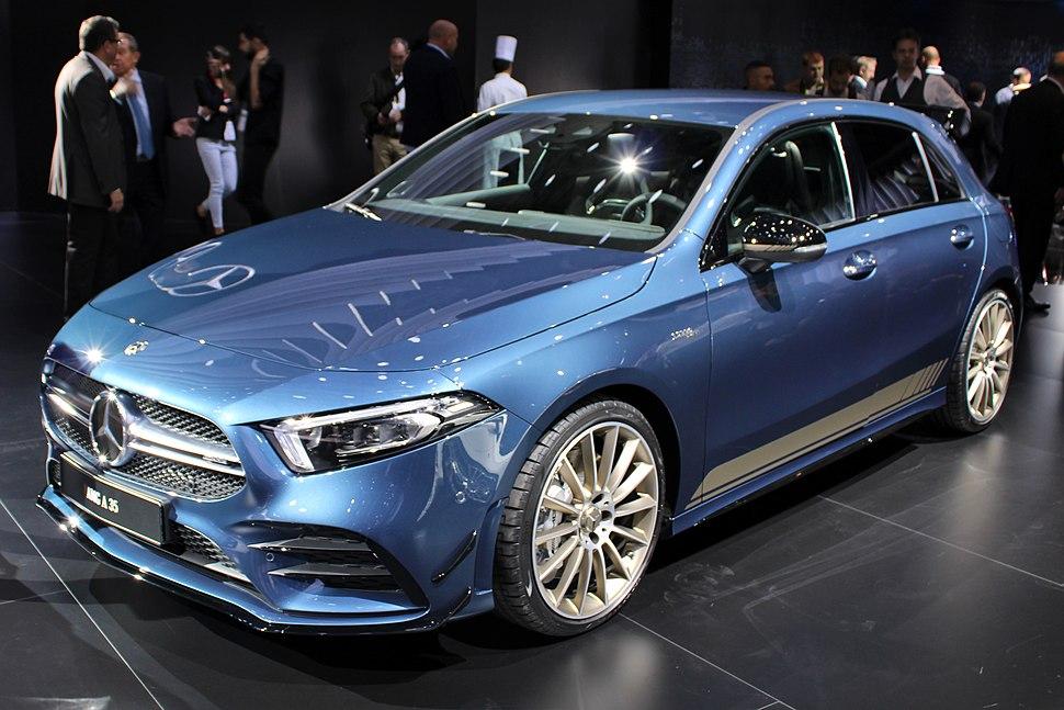 Mercedes-AMG A 35, Paris Motor Show 2018, IMG 0540