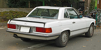 Mercedes-Benz R107 and C107 - Mercedes-Benz 560 SL (Japan)