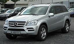 Mercedes GL 450 CDI 4MATIC (X164) Facelift front 20100926