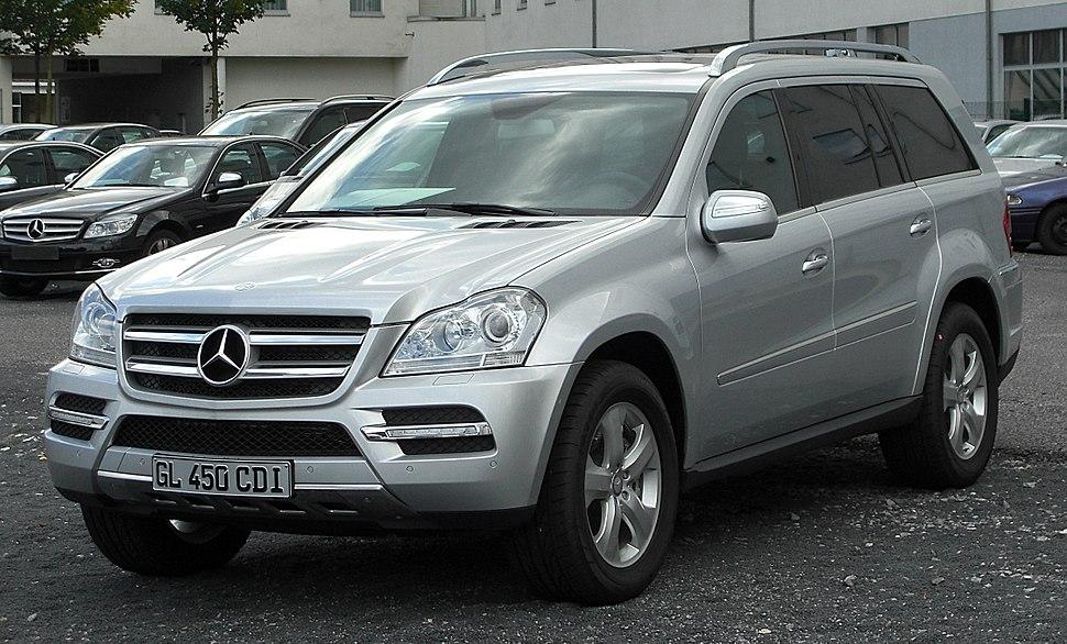 Mercedes-Benz GL-Class - Howling Pixel