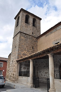 Parish church of Mesegar de Corneja, Ávila,Spain