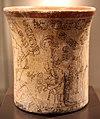 Messico, maya, vaso con scena ultramondana, periodo classico recente, VII-X sec., 04.JPG
