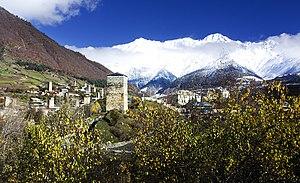 Mestia - Image: Mestia, Georgia — Town Mestia, Svaneti