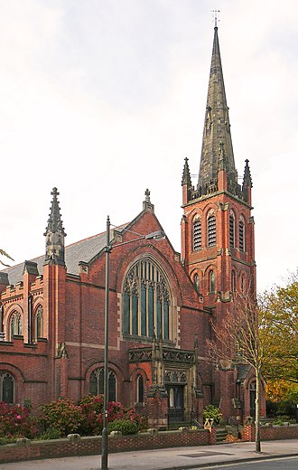 Clifton, York - Image: Methodist Church, Clifton, York, England 20101030
