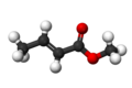 Methyl crotonate3D.png