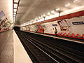 Metro Paris - Ligne 3 - station Louise Michel 01.jpg