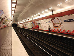 Image illustrative de l'article Louise Michel (métro de Paris)