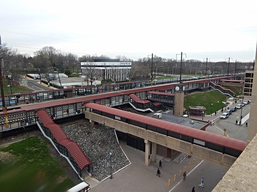 Metropark station