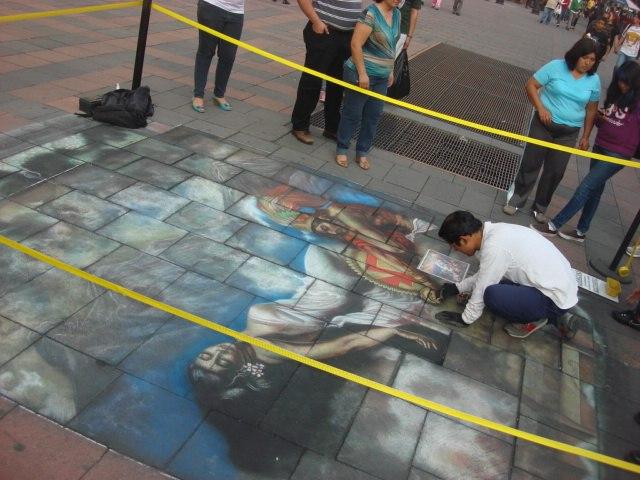 Mexican Street Artist