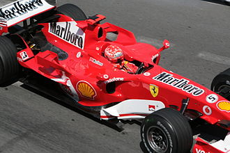 2006 Monaco Grand Prix - Michael Schumacher set the fastest time, but was relegated to the back of the grid for impeding rival cars.