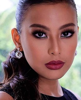 Michelle Dee Filipino actress, model, athlete, presenter, and beauty queen
