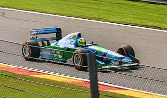 Benetton B194 - Image: Mick Schumacher Benetton B194