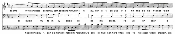 "Excerpt of music – part of ""I Am So Proud"""