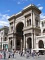 Milano Galleria VEII fasada.jpg