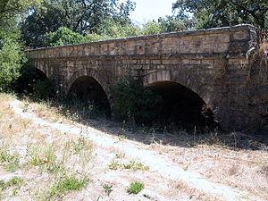 Milliken Creek (California) - Millikin Creek Bridge near Trancas St, Napa.