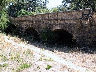 Milliken Creek (California) - Milliken Creek Bridge