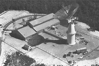 Radar astronomy - Millstone Hill Radar in 1958