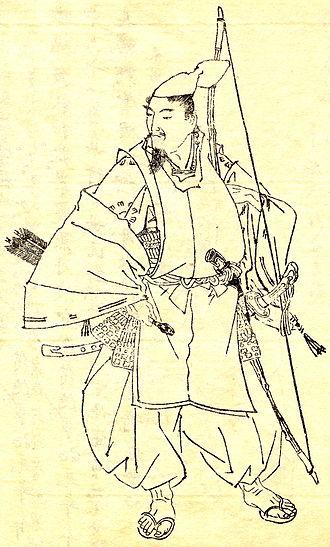 Minamoto no Yorimitsu - Raikō by Kikuchi Yōsai