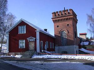 Sala, Sweden - Sala silver mine's main office