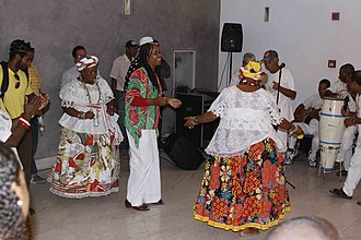 Samba (Brazilian dance) - Samba de Roda, Salvador