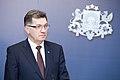 Ministru prezidents Valdis Dombrovskis tiekas ar Lietuvas premjerministru Aļģirdu Butkeviču (8366366865).jpg