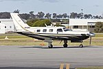 Mitchell Water Australia (VH-WMY) Piper PA-46-500TP Malibu Meridian taxiing at Wagga Wagga Airport.jpg