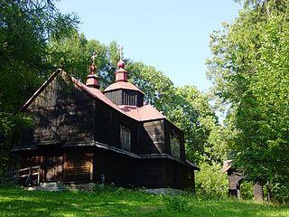 Moczary, Bieszczady County Village in Subcarpathian Voivodeship, Poland