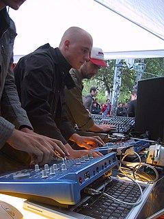 Modeselektor German electronic music duo