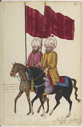 Flags of the Ottoman Empire - Image: Moeurs et costumes des Orientaux (recueil).f 022