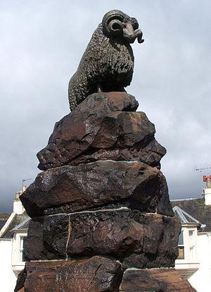 Moffat - Ram statue