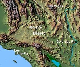 Image illustrative de l'article Désert des Mojaves