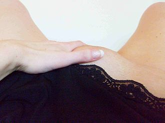 Fingering (sexual act) - Manual stimulation of the outer genitalia is the most common form of masturbation