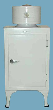 General Electric Monitor Top Refrigerator Introduced In 1927