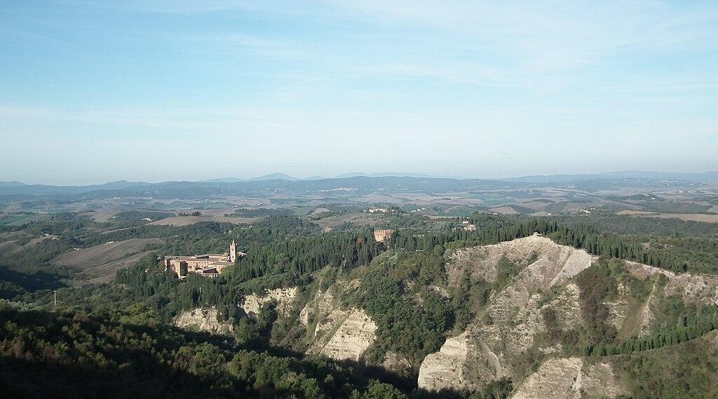 Anello Monte Oliveto Maggiore