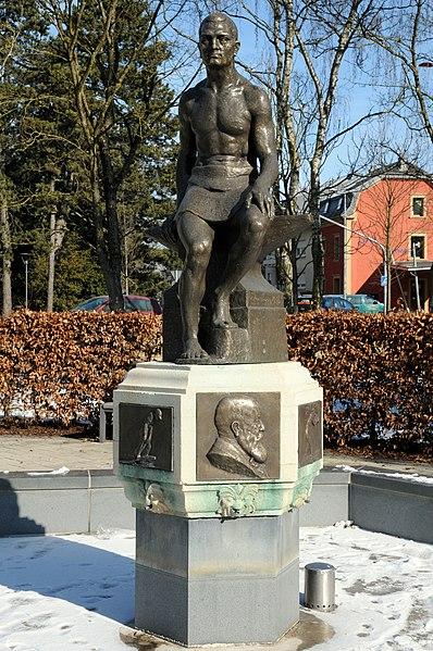 Monument Émile Mayrisch, zu Diddeleng.