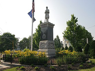 Gray, Maine - Image: Monument Square, Gray Maine