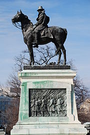 Monument to Grant on the National Mall