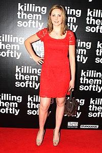 Morgan Griffin at Killing Them Softly Premiere, in September 2012.jpg
