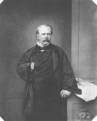 Moritz von Schwind - Moritz von Schwind, c. 1860.