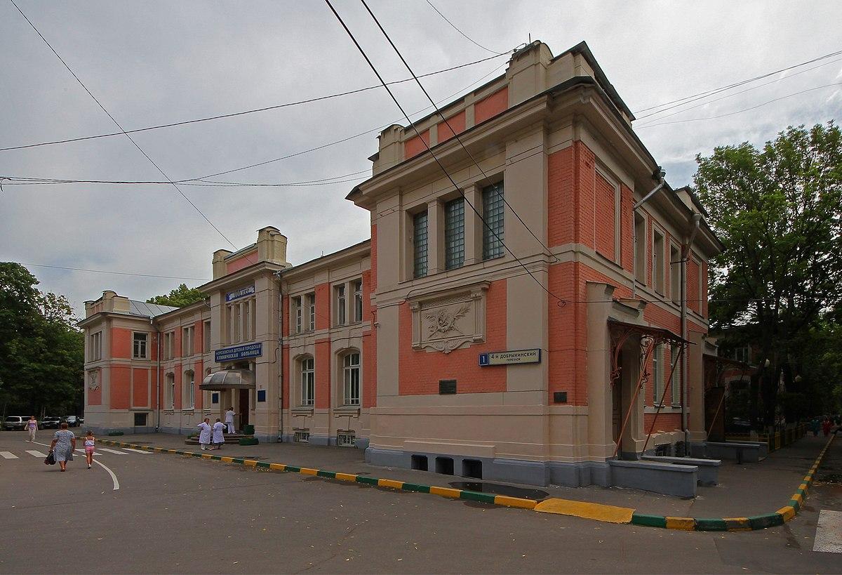 Отделение офтальмологии  Морозовская ДГКБ