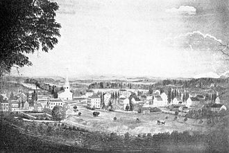 Morristown, New Jersey - Morristown, 1828
