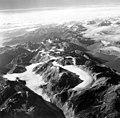 Morse Glacier, mountain glacier and tidewater glacier in the background, September 18, 1972 (GLACIERS 5666).jpg