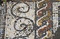 Mosaic floor with geometric motifs, Roman Villa of Pisões, Lusitania, Portugal (13029521005).jpg