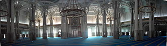 Mosque of Rome - The main hall