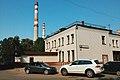 Moscow, Novozavodskaya 18 - gates of Khrunichev plant(21059975090).jpg